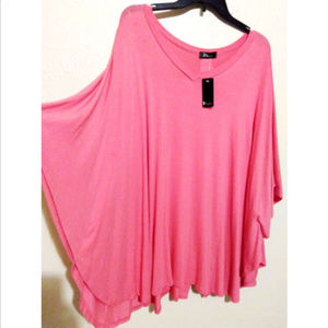 Design new sz S / M oversize loose tunic blouse